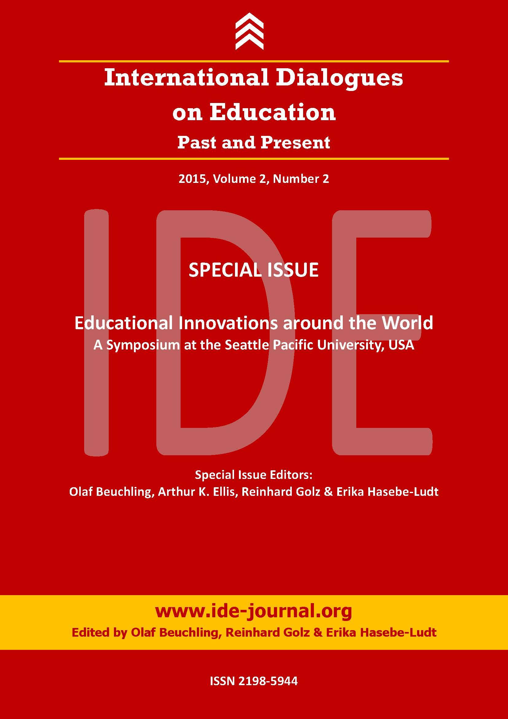 View Vol. 2 No. 2 (2015): IDE